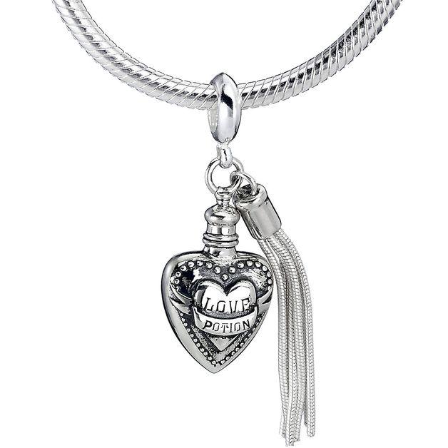 The Carat Shop: Harry Potter Love Potion Slider Charm in Sterling Silver