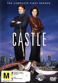 Castle - The Complete 1st Season (3 Disc Set) on DVD