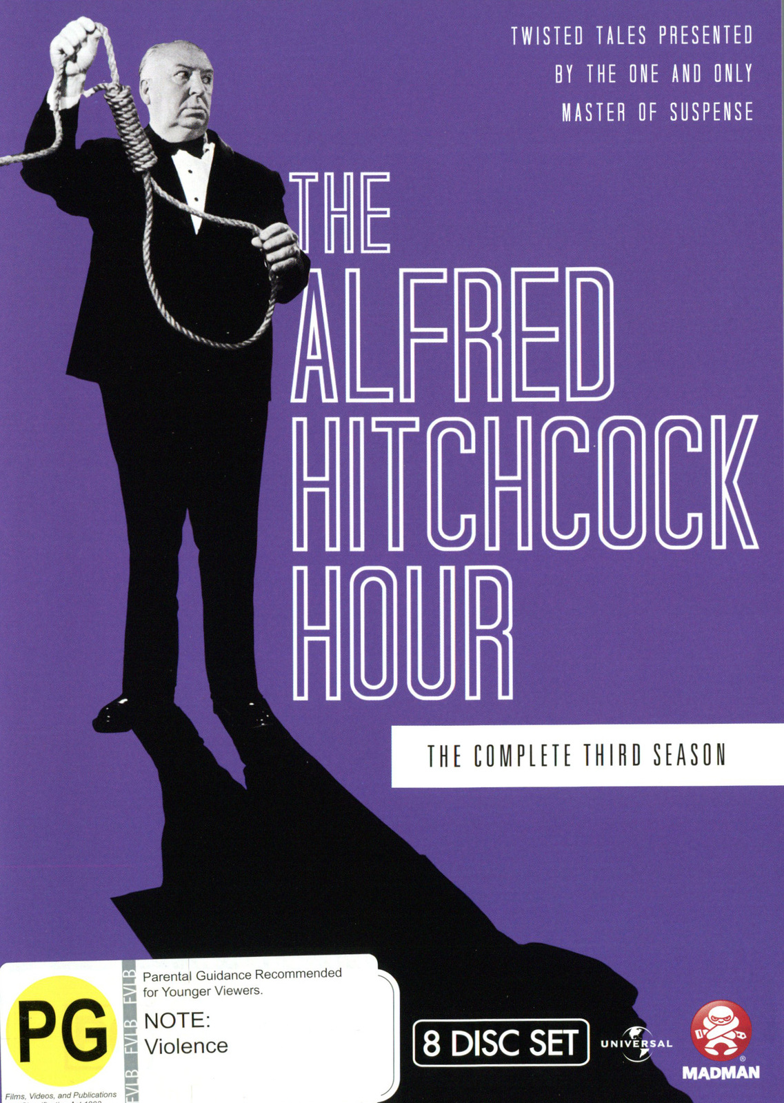 The Alfred Hitchcock Hour - The Complete Third Season on DVD image
