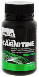 Horleys Acetyl-L-Carnitine (40 Capsules)