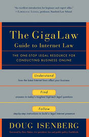 The Gigalaw Guide to Internet Law by Doug Isenberg image