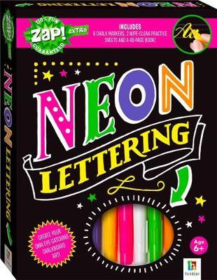ZAP! Extra: Neon Lettering - Activity Set image