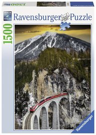 Ravensburger : Winter Canyon Puzzle 1500pc