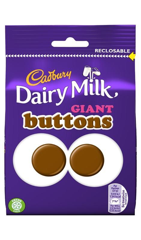 Cadbury: Giant Buttons (95g)