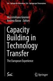 Capacity Building in Technology Transfer