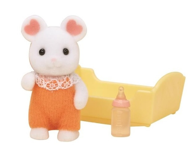 Sylvanian Families: Marshmallow Mouse Baby