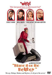 Blame It On The Bellboy on DVD
