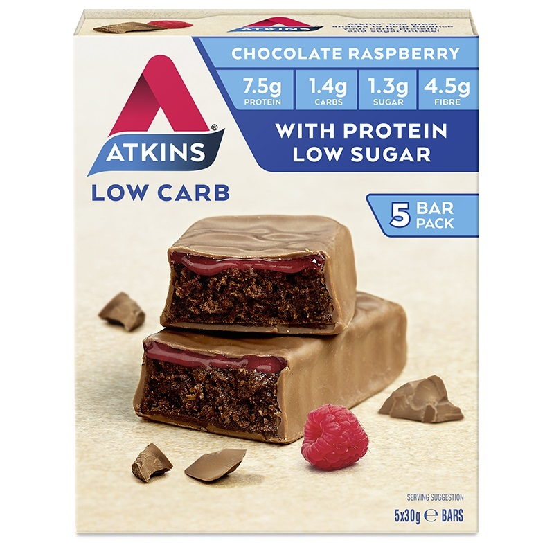Atkins Advantage Bars - Chocolate Raspberry (5 x 30g) image