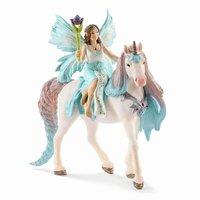 Schleich : Fairy Eyela with Princess Unicorn