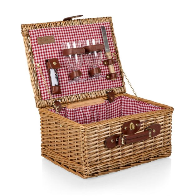 Picnic Time: Classic Wine and Cheese Basket