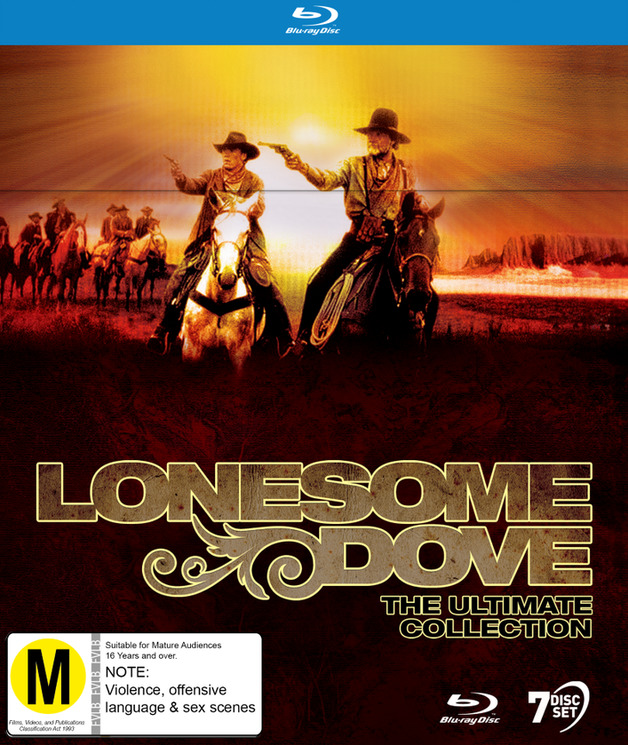 Lonesome Dove: Ultimate Blu-ray Collection on Blu-ray