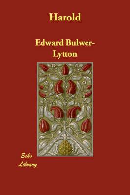 Harold by Edward Bulwer Lytton Lytton, Bar image