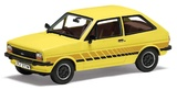 Corgi: 1/43 Ford Fiesta Mk1 'Festival', Prairie Yellow - Diecast Model