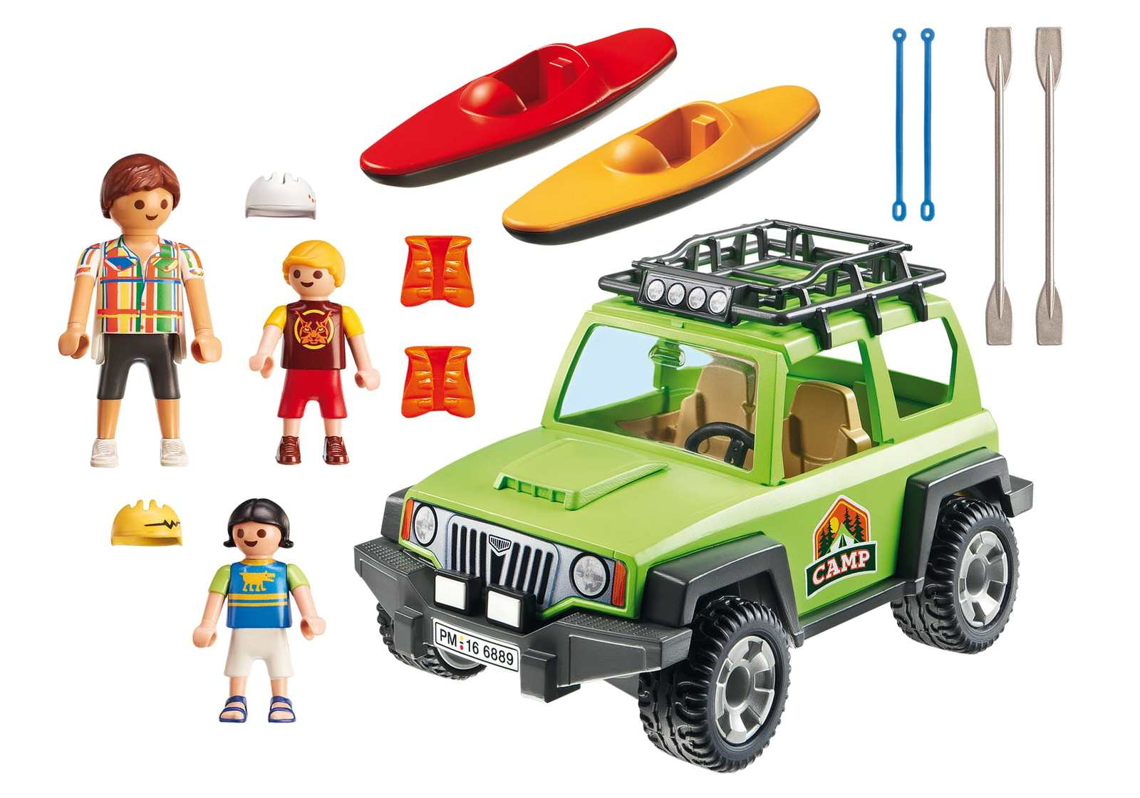 Playmobil: Summer Fun - Off-Road SUV image