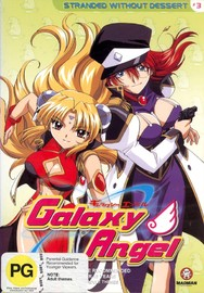 Galaxy Angel - Vol 03: Stranded Without Dessert on DVD image