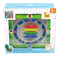 Eric Carle : Crayon & Frame Bath Set - Very Hungry Caterpillar