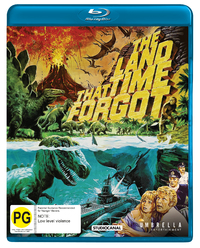 The Land That Time Forgot on Blu-ray