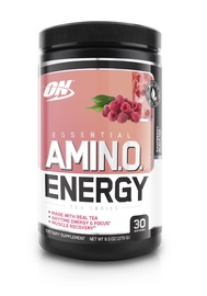 Optimum Nutrition Tea Series Amino Energy Drink - Raspberry Black Tea (270g)