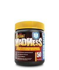 Mutant Madness Pre-Workout - Blue Raspberry (375g)