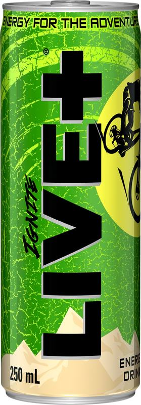 Live Plus Ignite Energy Drink (250ml) Pack of 30