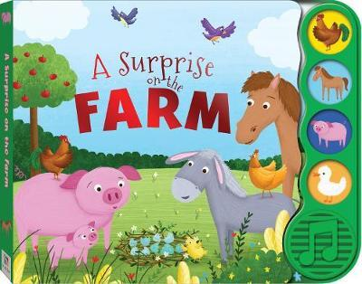 First Steps A Surprise on the Farm Sound Book by Louise Coulthard