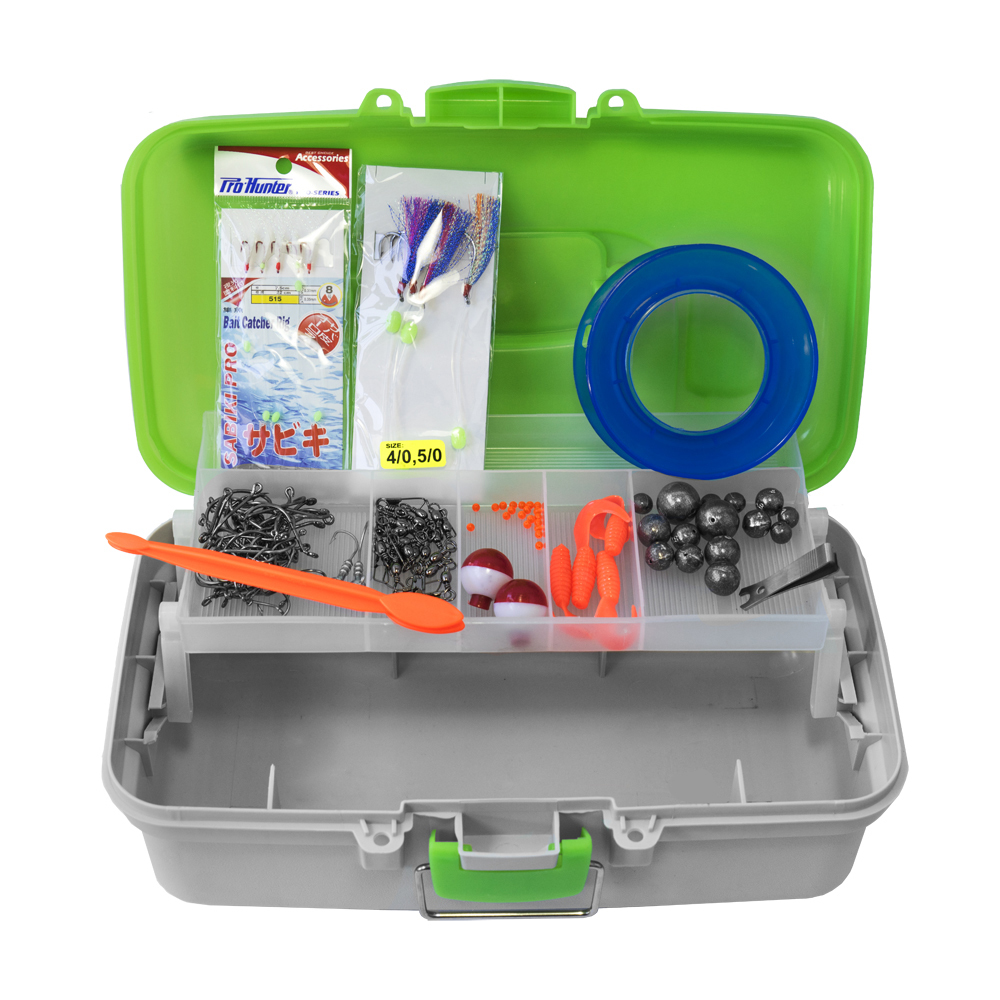 Pro Hunter 125 Piece Kiwi Tackle Kit image