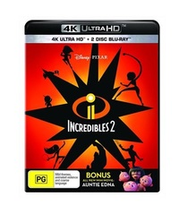 Incredibles 2 on UHD Blu-ray image