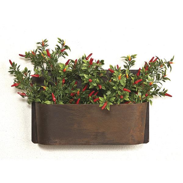 Trough Wall Planter - Small
