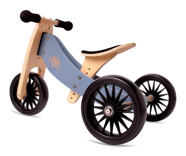 Kinderfeets: Tiny Tot Plus - 2-in-1 Bike (Slate Blue)