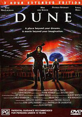 Dune (3 Hour Extended Edition) on DVD