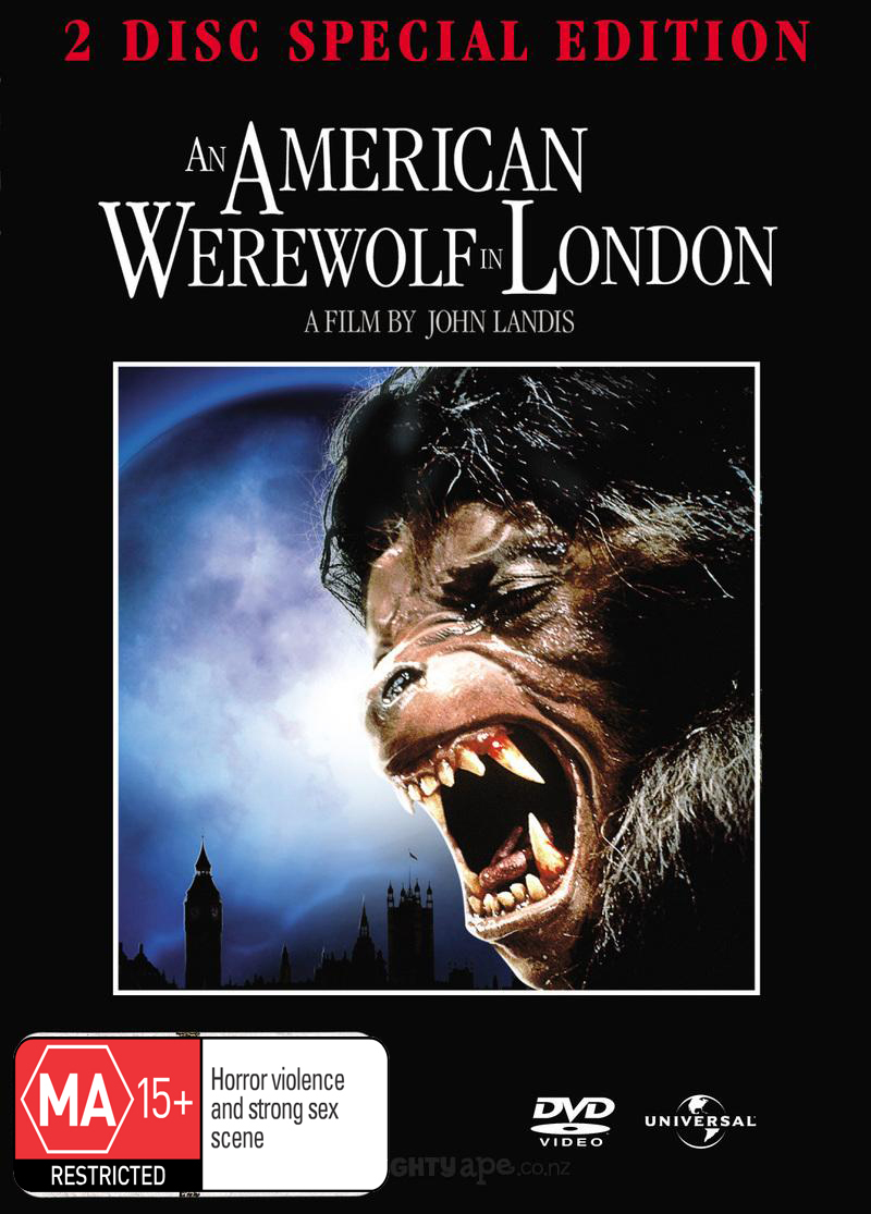 An American Werewolf In London SE (2 Disc Set) on DVD image