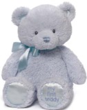 Gund - My First Teddy 38cm - Blue
