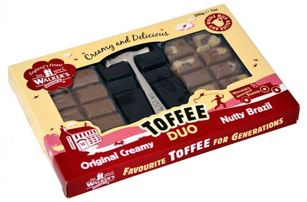 Walkers Nonsuch Toffee Duo Hammer Pack 200g