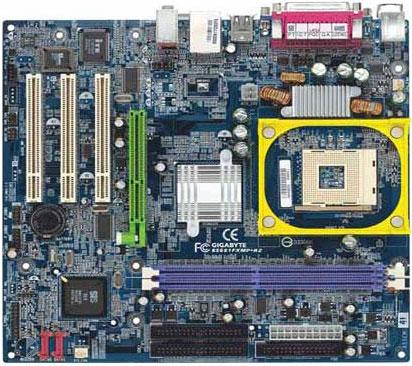 Gigabyte Motherboard Socket 478 GA-8S661FXMP-RZ image