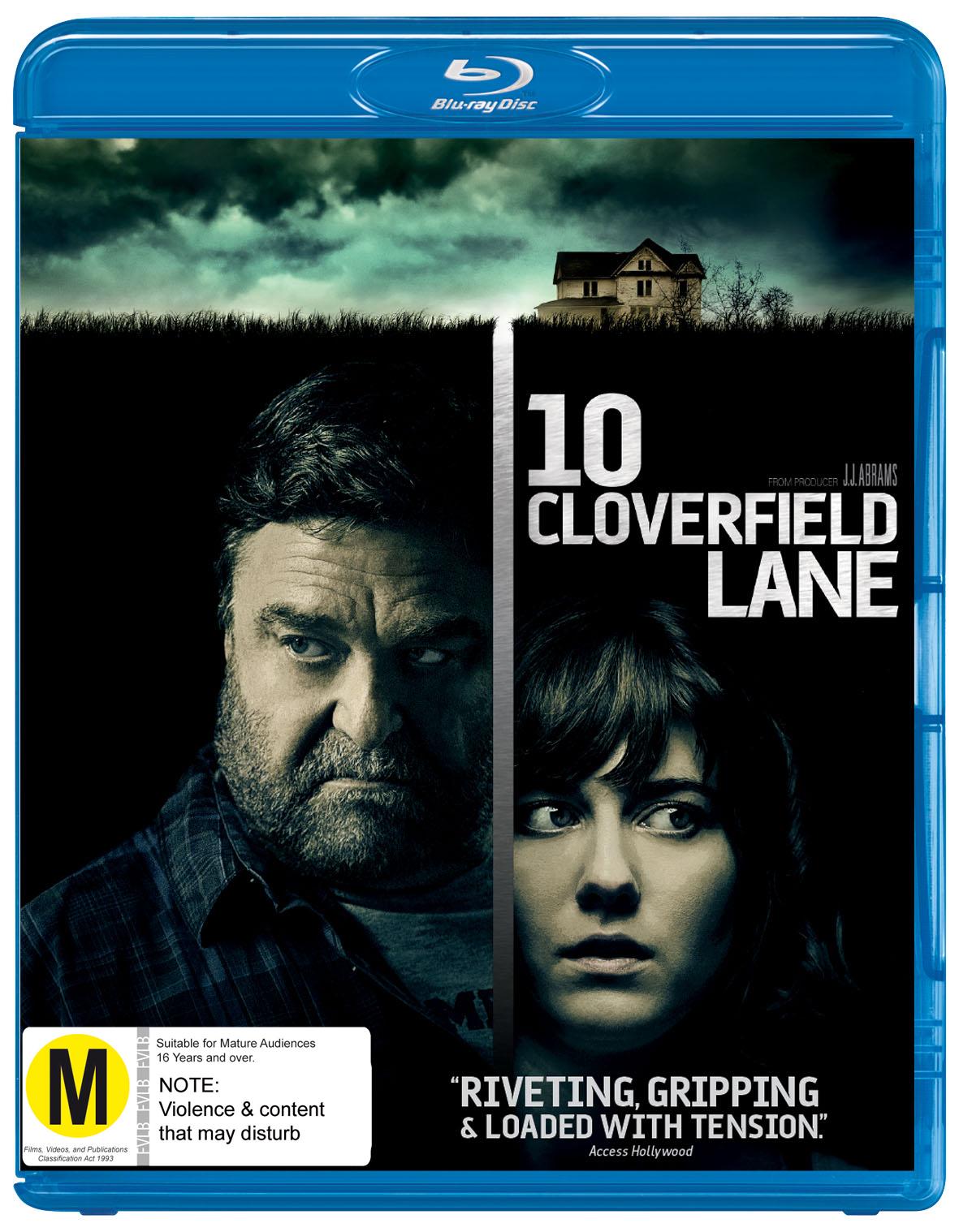 10 Cloverfield Lane on Blu-ray image