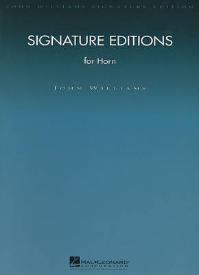 Signature Editions for Horn by John Williams