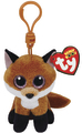 Ty Beanie Boos: Slick Fox - Clip On Plush