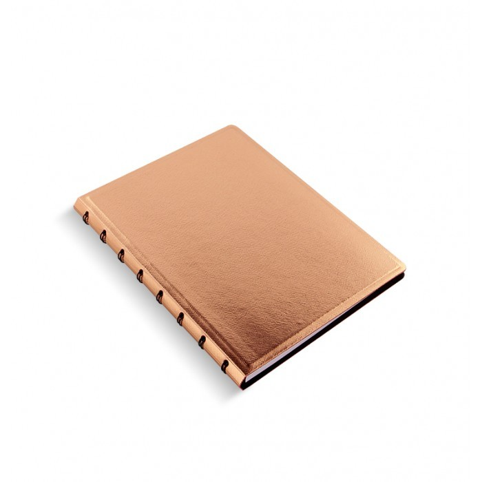 Filofax - A5 Saffiano Notebook - Rose Gold image