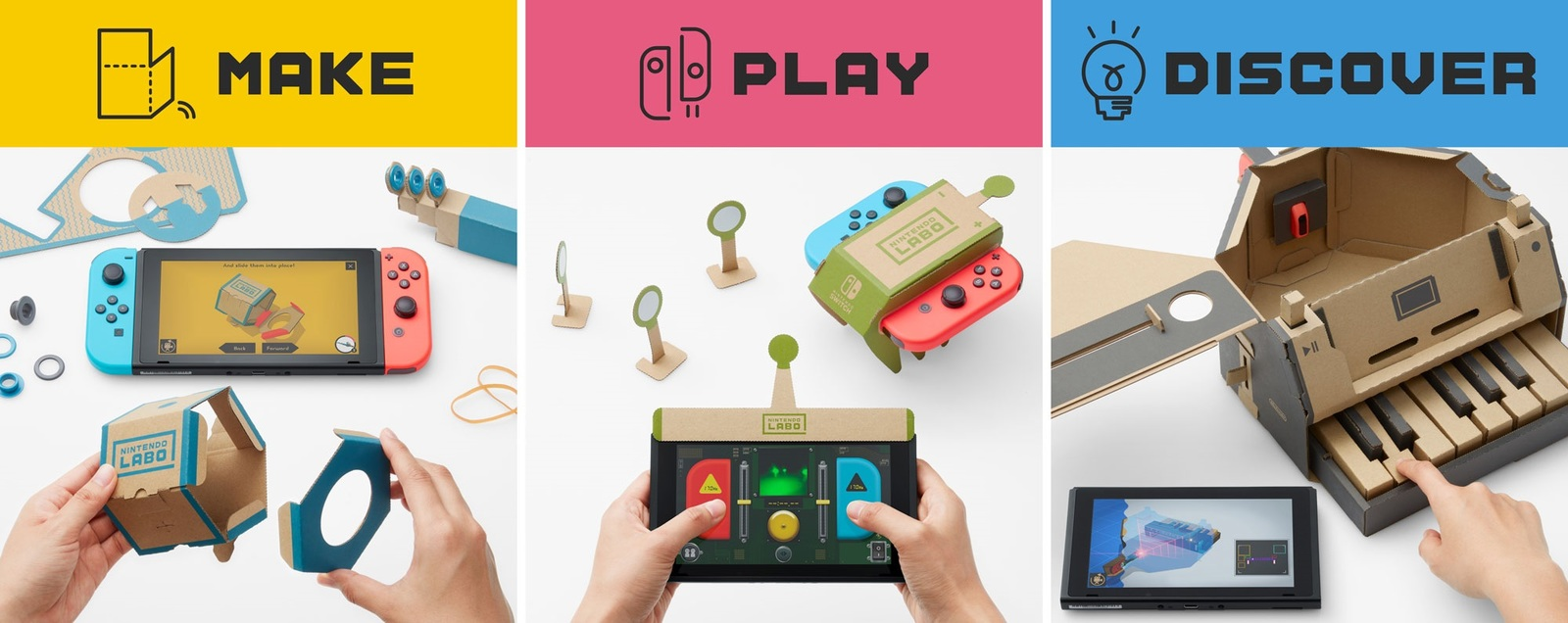 Nintendo Labo Toy-Con 01 Variety Kit for Nintendo Switch image
