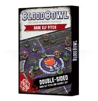 Blood Bowl: Dark Elf Pitch & Dugouts