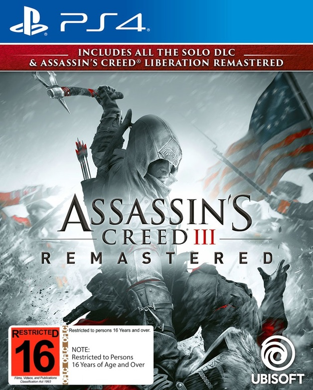 Assassin's Creed III Remastered for PS4