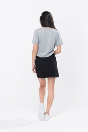 Just Hype: Script Women's Crop T-Shirt Grey - 12 image