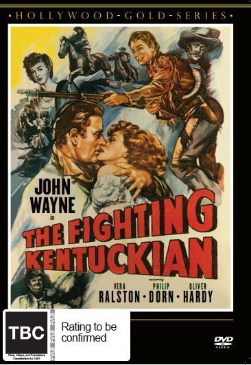 The Fighting Kentuckian on DVD