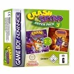 Crash & Spyro Super Pack Volume 3 (Crash Fusion & Spyro Fusion) for Game Boy Advance