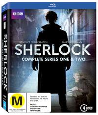 Sherlock - Series 1 & 2 on Blu-ray
