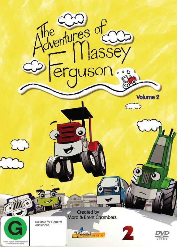 The Adventures Of Massey Ferguson - Volume 2 on DVD