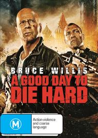 Die Hard 5: A Good Day to Die Hard on DVD