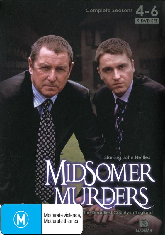 Midsomer Murders - Seasons 4-6 on DVD
