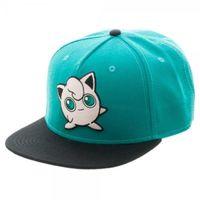 Pokemon: Jigglypuff Snapback Cap (Green)