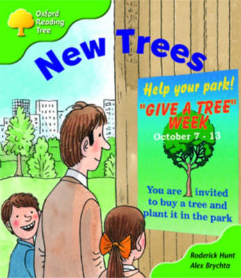 Oxford Reading Tree: Stage 2: More Patterned Stories A: New Trees by Roderick Hunt image